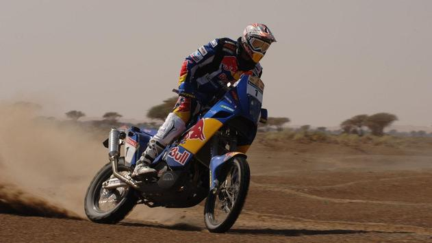 Dakar Rally Motorcycle Desert screenshot 3