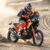 Dakar Rally Motorcycle Racing icon