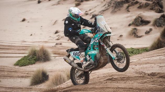 Dakar Rally Motorcycle Racing poster