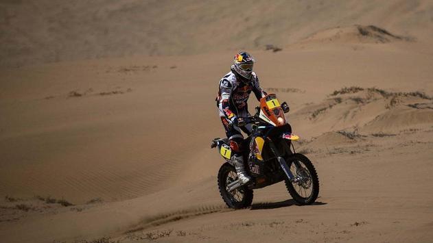 Dakar Rally Motorcycle Racing Wallpaper apk screenshot