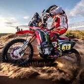 Dakar Rally Bike Wallpaper icon