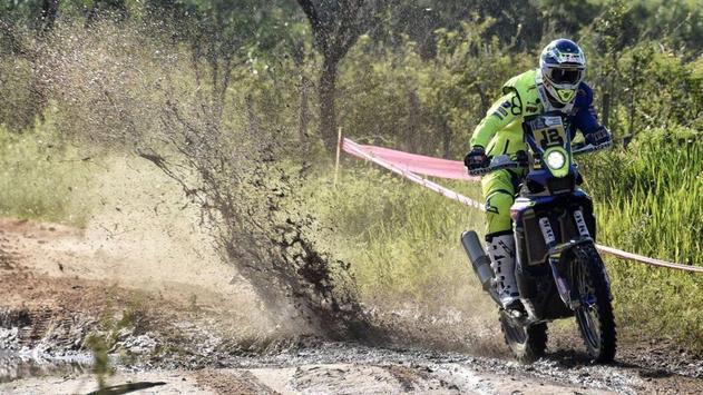 Dakar Rally Bike Wallpaper apk screenshot