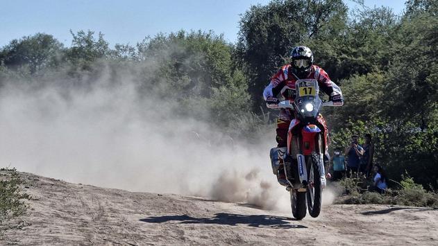 Dakar Rally Bike Wallpaper screenshot 15