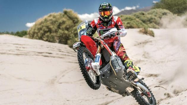 Dakar Rally Bike Wallpaper screenshot 16
