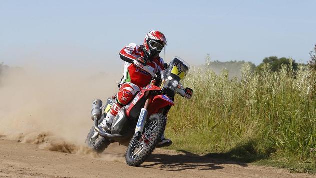 Dakar Rally Bike Wallpaper screenshot 17
