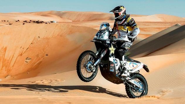Dakar Rally Bike Wallpaper screenshot 18