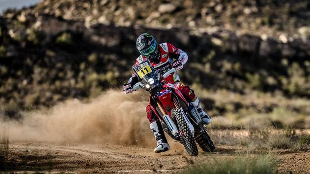 Dakar Rally Bike Wallpaper screenshot 19