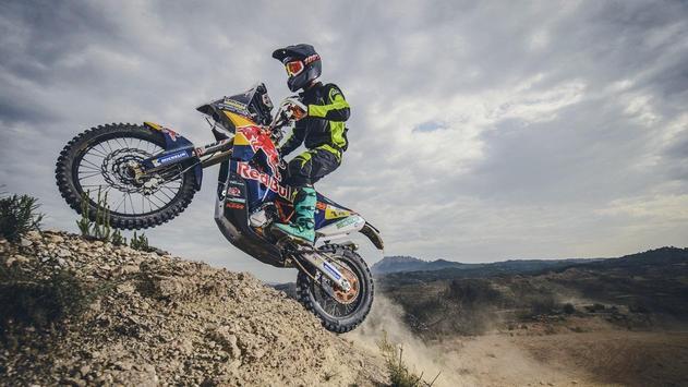 Dakar Rally Bike Wallpaper screenshot 11
