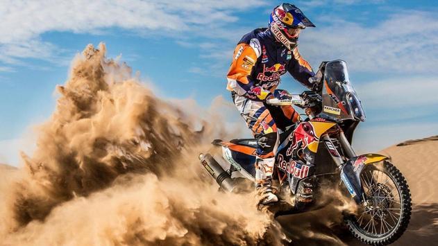 Dakar Rally Bike Wallpaper screenshot 13