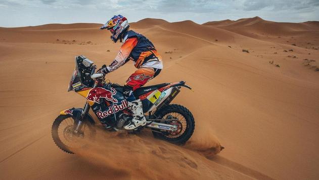 Dakar Rally Bike Wallpaper screenshot 1