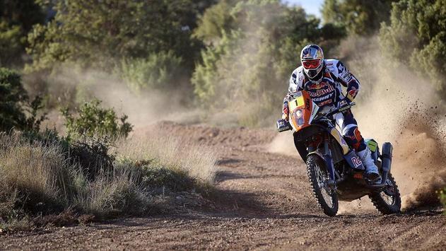 Dakar Rally Bike Wallpaper screenshot 20