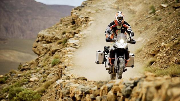 Dakar Rally Bike Wallpaper screenshot 21