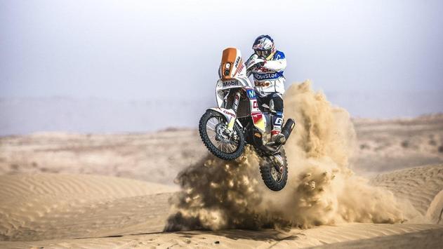 Dakar Rally Bike Wallpaper screenshot 23