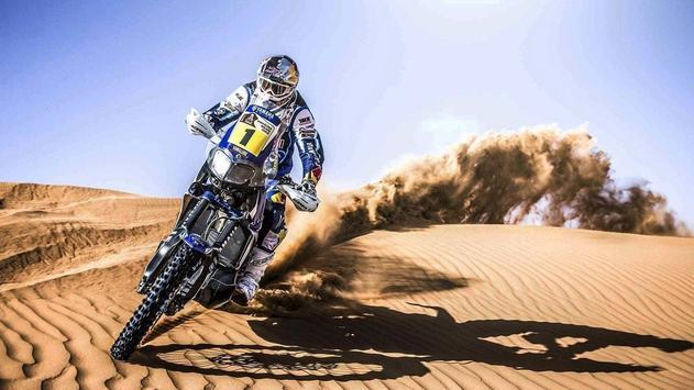 Dakar Rally Bike Wallpaper screenshot 3