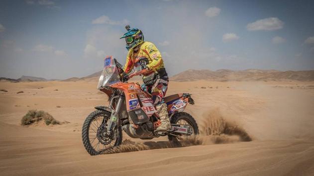 Dakar Rally Bike Wallpaper screenshot 4