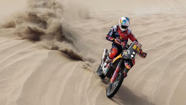 Dakar Rally Bike Wallpaper screenshot 7