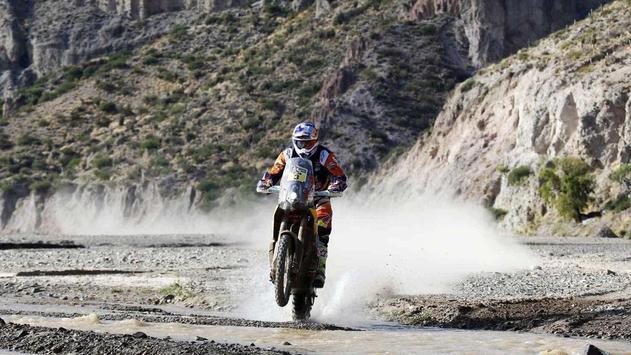 Dakar Rally Bike Wallpaper screenshot 8