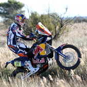 Rally Dakar Motorcycle Desert Wallpaper icon
