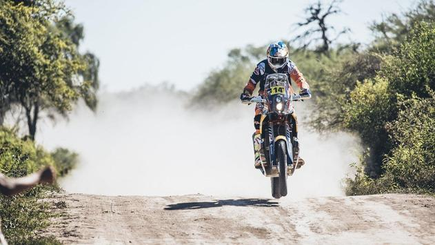 Rally Dakar Motorcycle Desert Wallpaper screenshot 15