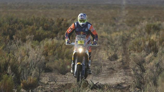 Rally Dakar Motorcycle Desert Wallpaper screenshot 21
