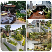 Home Landscaping Design icon