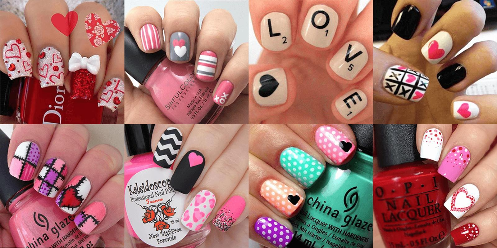 Valentine\'s Day Nails Designs - Nail Ideas APK Download - Free ...