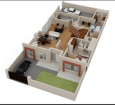 3d home plan design apk screenshot - 3d Home Drawings Plans