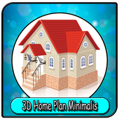 3D Home Plans Minimalist icon