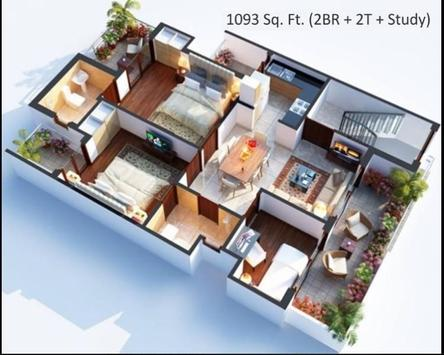 Interior Home 3D screenshot 3