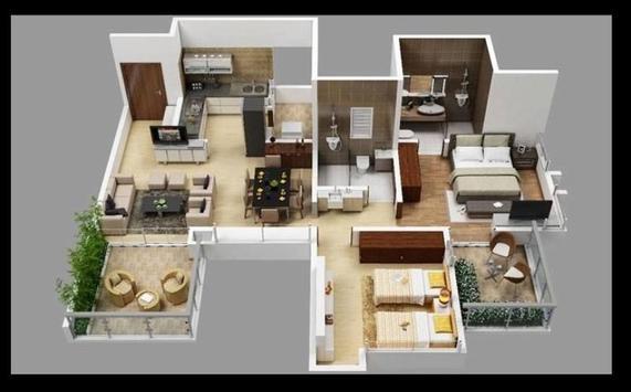 Interior Home 3D screenshot 2