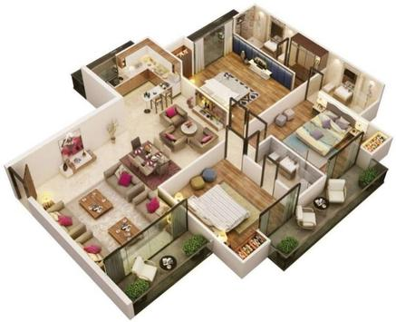 Interior Home 3D screenshot 4