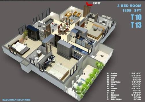 Interior Home 3D screenshot 9