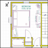50+ Small Bedroom Layout 2018 icon