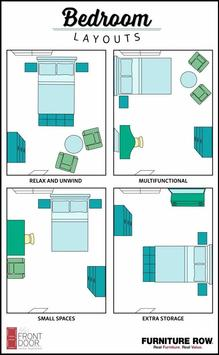 50+ Small Bedroom Layout 2018 poster