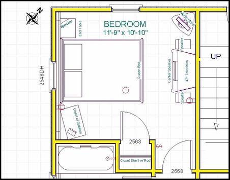50+ Small Bedroom Layout 2018 screenshot 2