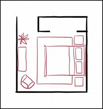 50+ Small Bedroom Layout 2018 screenshot 4
