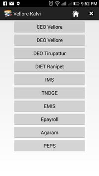 Vellore Kalvi apk screenshot