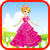 Frozen Princess cinderella Run icon