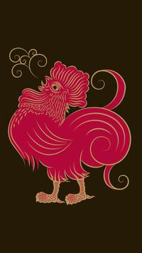 Rooster Live Wallpaper 🐓 Horoscope Wallpapers apk screenshot