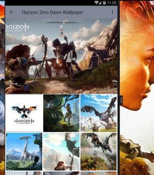 Horizon Zero Dawn Lock Screen poster