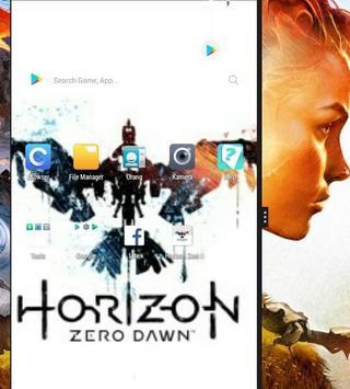 Horizon Zero Dawn Lock Screen screenshot 1