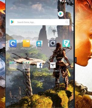 Horizon Zero Dawn Lock Screen screenshot 2