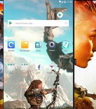 Horizon Zero Dawn Lock Screen screenshot 5