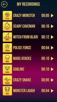 Free Halloween Voice Changer apk screenshot