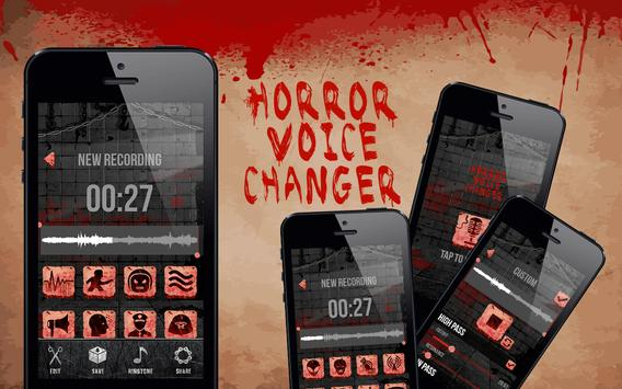 Horror Voice Changer Effects poster