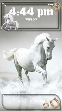 Horse Pattern Lock Screen apk screenshot