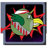 Rocky Bird vs Zombies (Tablet) icon