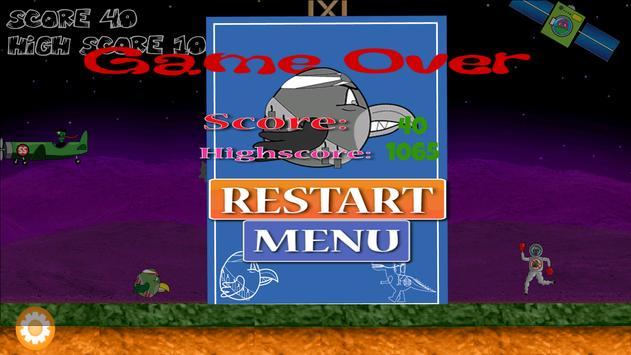 Rocky Bird vs Zombies (Tablet) screenshot 4