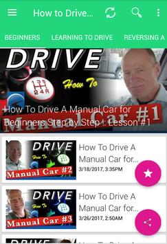 How To Drive a Car: Manual & automatic poster