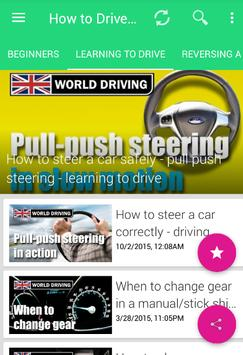 How To Drive a Car: Manual & automatic screenshot 1